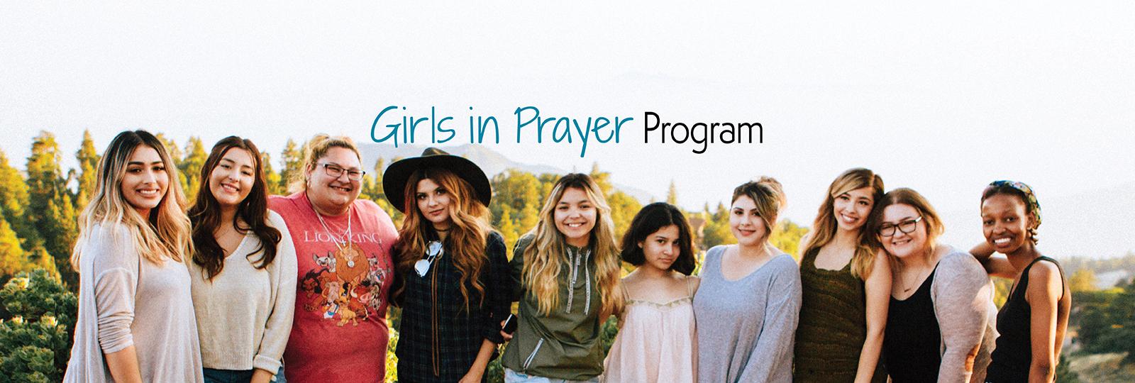 Girls in Prayer program
