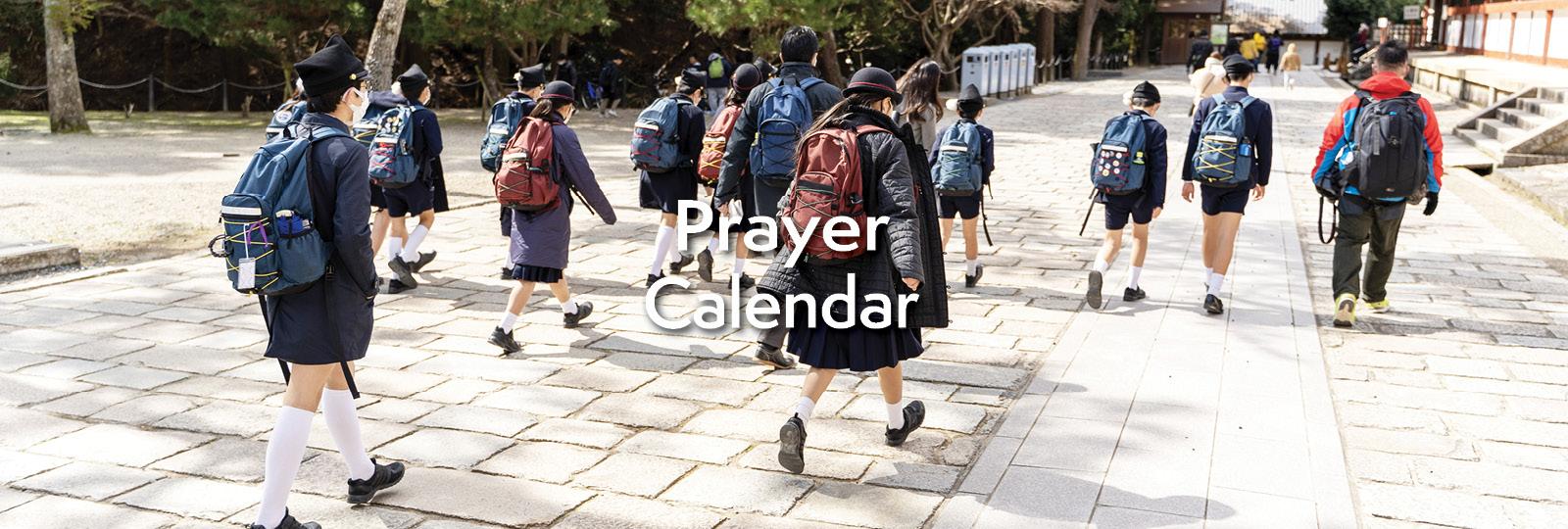 Prayer Calendar Moms in Prayer International