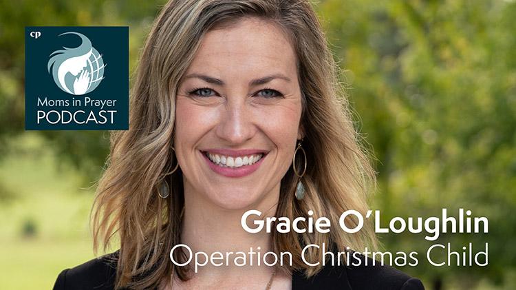 Gracie O'Loughlin Operation Christmas Child