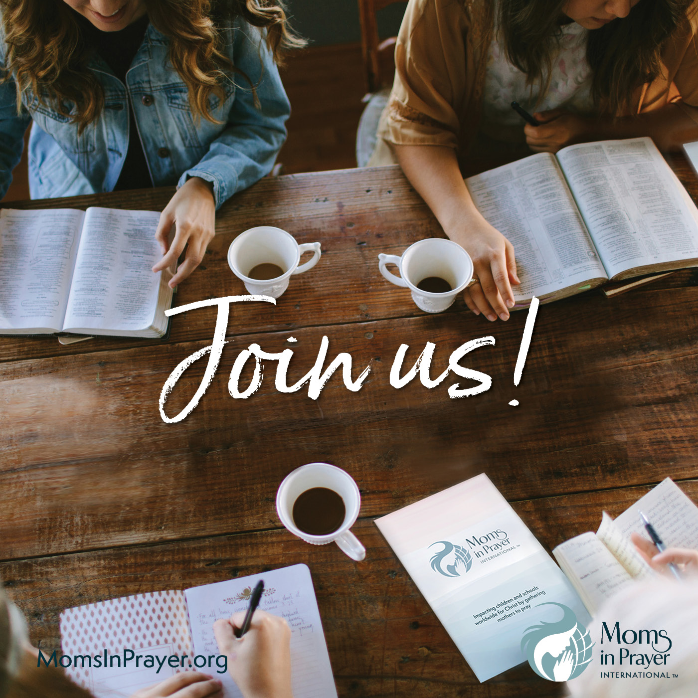 Join a community of praying moms