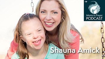 Shauna Amick, mom of special needs child, Director of Radio Ministries for Joni and Friends