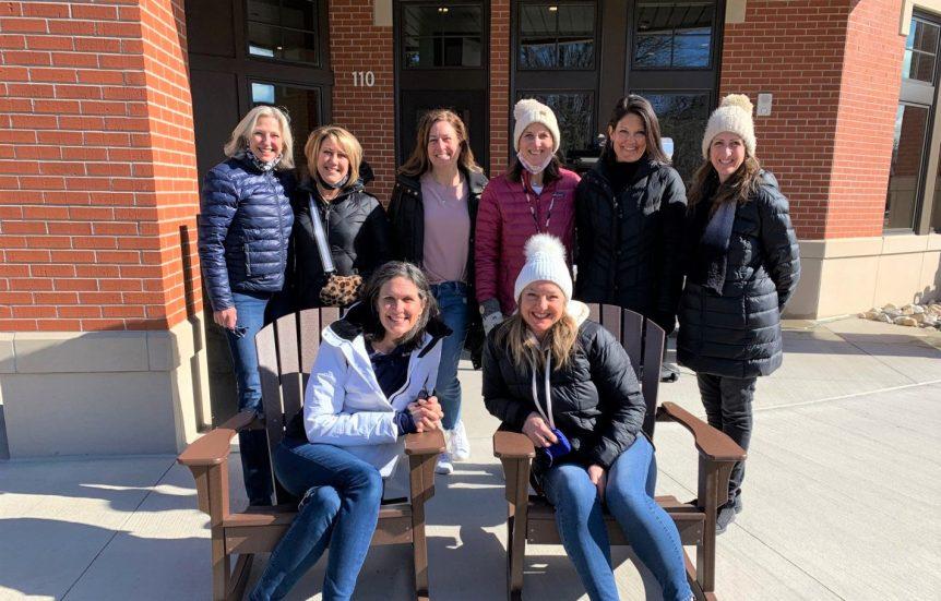 Moms meet at college campus to prayer walk