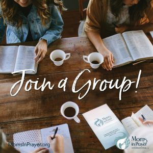 Join other moms to pray for your children and their schools
