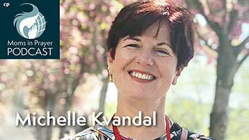 Michelle Kvandal teaching mothers to pray in South America, caring for orphans and widows.