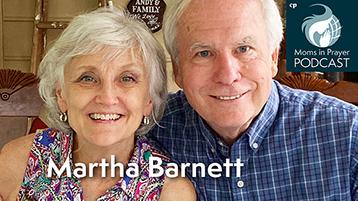Martha Barnett, Moms in Prayer Ambassador to Africa