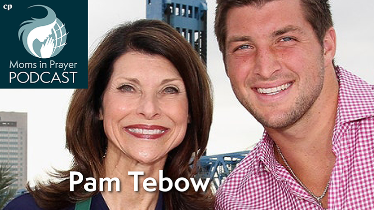 Pam Tebow and son Tim Tebow
